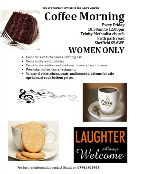 women's coffee morning