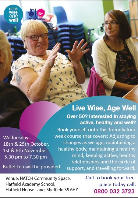 LiveWiseAgeWell session at Hatfield