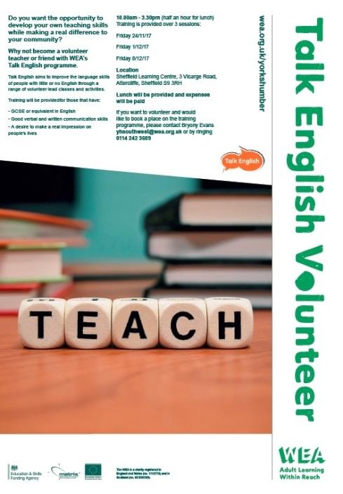 WEA teach english