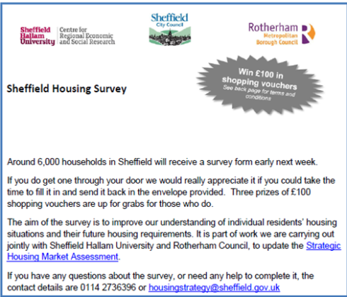 Housing Survey x2