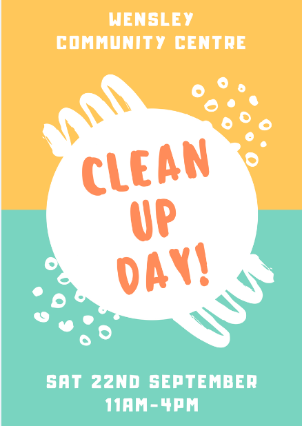 wensley clean up day