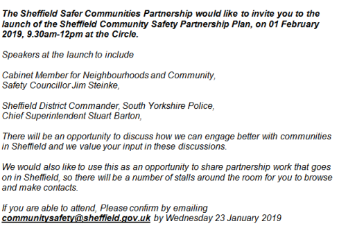 community safety meeting