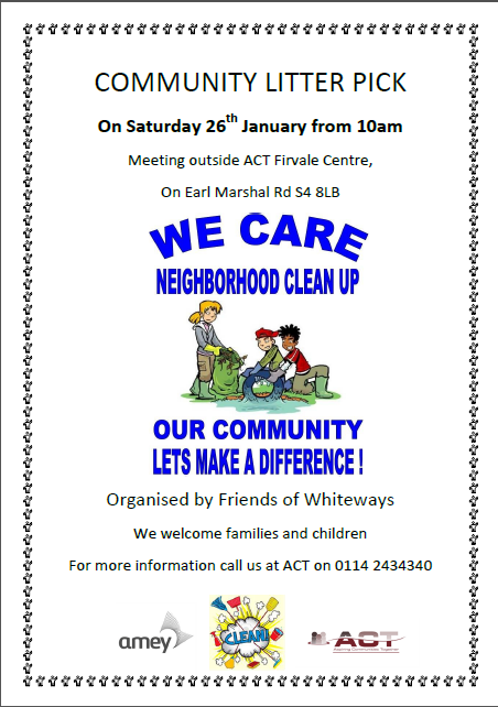 fir vale community litter pick