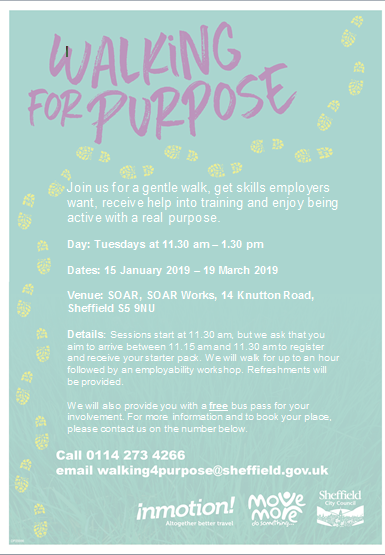 walking for purpose jan 2019