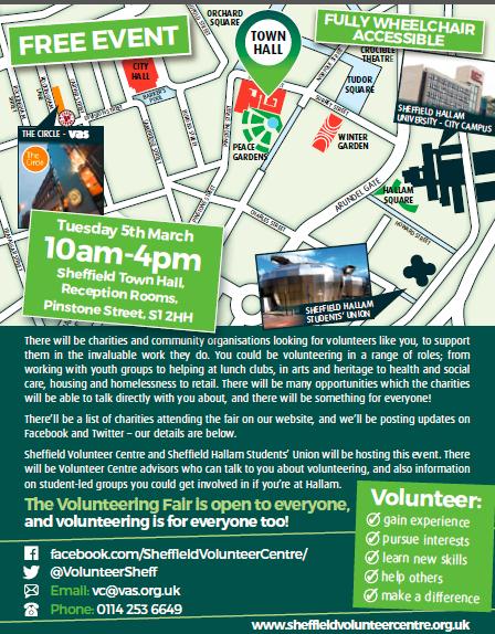 Volunteering Fair 2