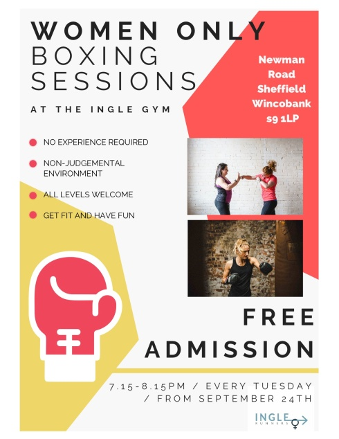 ingle women boxing poster