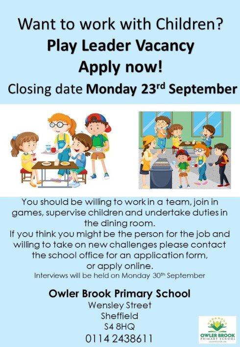 Local Play Leader Vacancy | north east sheffield on employee benefits form, cv form, job vacancy, job requirements, agreement form, job openings, contact form, job applications you can print, job advertisement, job resume, job search, cover letter form, job applications online, job payment receipt, job letter, job opportunity,